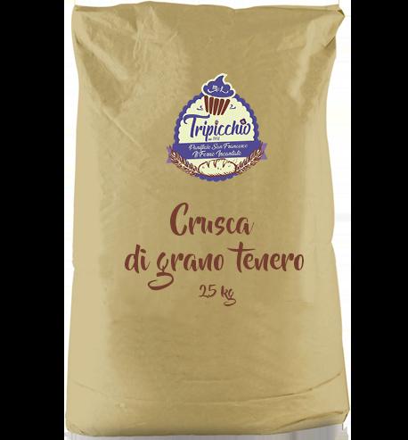 Crusca di grano tenero 25 kg